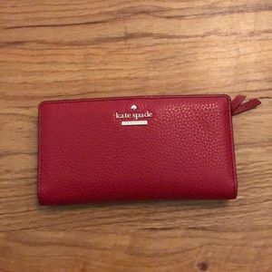 Kate Spade wallet red new like